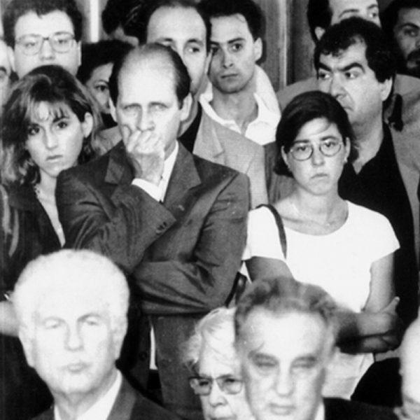 """Più operazione di testimonianza che non restauro tradizionalmente inteso: il recupero de """"I giocatori di carte"""" di Bartolomeo Manfredi, l'opera più devastata fra quelle colpite dall'attentato mafioso di via de' Georgofili, che nella notte fra il 26 e il 27 maggio del 1993 uccise 5 persone e danneggiò pesantemente alcuni ambienti degli Uffizi, è stato presentato oggi in Palazzo Vecchio a Firenze. ANSA/UFFICIO STAMPA COMUNE DI FIRENZE +++ ANSA PROVIDES ACCESS TO THIS HANDOUT PHOTO TO BE USED SOLELY TO ILLUSTRATE NEWS REPORTING OR COMMENTARY ON THE FACTS OR EVENTS DEPICTED IN THIS IMAGE; NO ARCHIVING; NO LICENSING +++"""